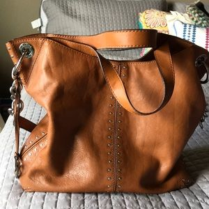 Micheal Kors handbag leather tan